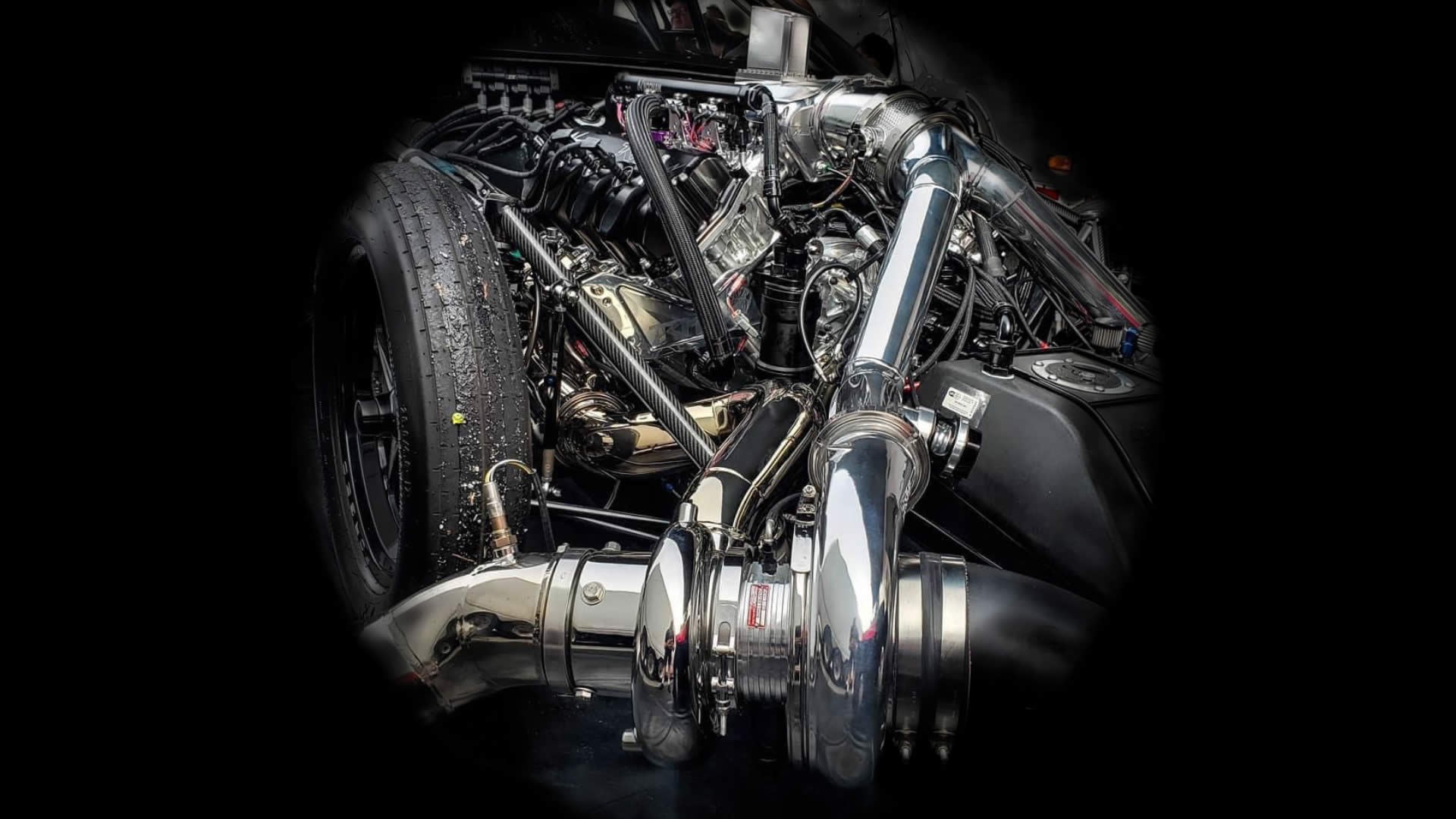 TKM Performance Turbo Drag Racing Engine